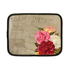 Flower Floral Bouquet Background Netbook Case (Small)