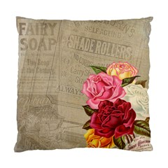 Flower Floral Bouquet Background Standard Cushion Case (two Sides)