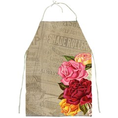 Flower Floral Bouquet Background Full Print Aprons