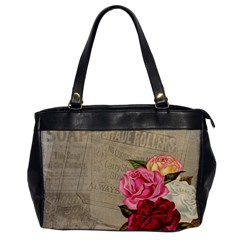 Flower Floral Bouquet Background Office Handbags