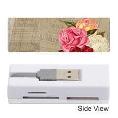 Flower Floral Bouquet Background Memory Card Reader (Stick)