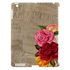 Flower Floral Bouquet Background Apple iPad 3/4 Hardshell Case (Compatible with Smart Cover)