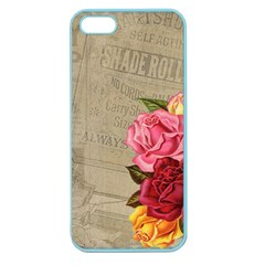 Flower Floral Bouquet Background Apple Seamless Iphone 5 Case (color)