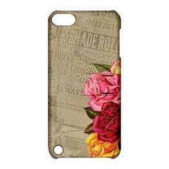 Flower Floral Bouquet Background Apple iPod Touch 5 Hardshell Case with Stand