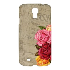 Flower Floral Bouquet Background Samsung Galaxy S4 I9500/i9505 Hardshell Case