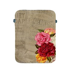 Flower Floral Bouquet Background Apple iPad 2/3/4 Protective Soft Cases