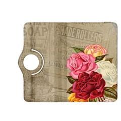 Flower Floral Bouquet Background Kindle Fire HDX 8.9  Flip 360 Case