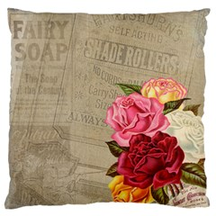 Flower Floral Bouquet Background Standard Flano Cushion Case (Two Sides)