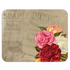 Flower Floral Bouquet Background Double Sided Flano Blanket (Medium)