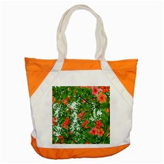 Flower Background Backdrop Pattern Accent Tote Bag