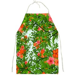 Flower Background Backdrop Pattern Full Print Aprons