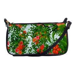 Flower Background Backdrop Pattern Shoulder Clutch Bags
