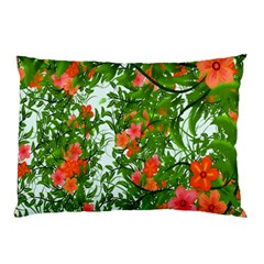 Flower Background Backdrop Pattern Pillow Case (Two Sides)