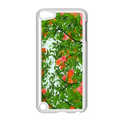 Flower Background Backdrop Pattern Apple iPod Touch 5 Case (White)