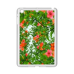 Flower Background Backdrop Pattern iPad Mini 2 Enamel Coated Cases