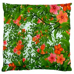 Flower Background Backdrop Pattern Standard Flano Cushion Case (two Sides)