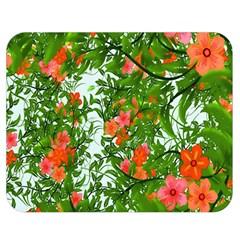 Flower Background Backdrop Pattern Double Sided Flano Blanket (medium)