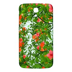 Flower Background Backdrop Pattern Samsung Galaxy Mega I9200 Hardshell Back Case
