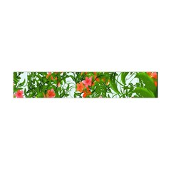 Flower Background Backdrop Pattern Flano Scarf (Mini)