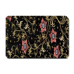Floral Pattern Background Small Doormat