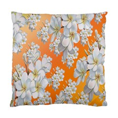 Flowers Background Backdrop Floral Standard Cushion Case (One Side)