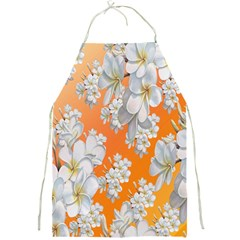 Flowers Background Backdrop Floral Full Print Aprons