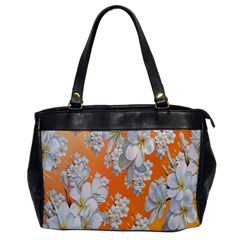 Flowers Background Backdrop Floral Office Handbags
