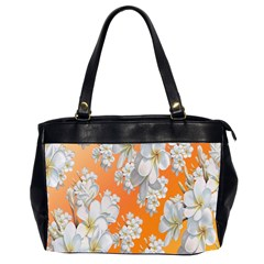 Flowers Background Backdrop Floral Office Handbags (2 Sides)