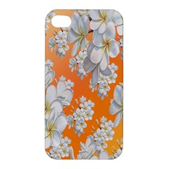 Flowers Background Backdrop Floral Apple Iphone 4/4s Hardshell Case