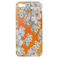 Flowers Background Backdrop Floral Apple Iphone 5 Hardshell Case