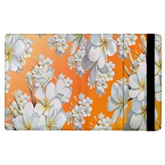 Flowers Background Backdrop Floral Apple Ipad 2 Flip Case