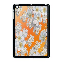 Flowers Background Backdrop Floral Apple Ipad Mini Case (black)