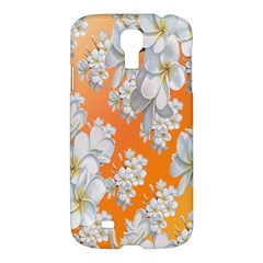 Flowers Background Backdrop Floral Samsung Galaxy S4 I9500/i9505 Hardshell Case