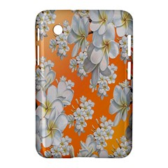 Flowers Background Backdrop Floral Samsung Galaxy Tab 2 (7 ) P3100 Hardshell Case