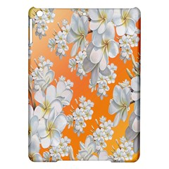 Flowers Background Backdrop Floral iPad Air Hardshell Cases