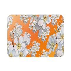 Flowers Background Backdrop Floral Double Sided Flano Blanket (mini)