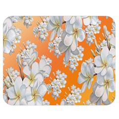 Flowers Background Backdrop Floral Double Sided Flano Blanket (Medium)