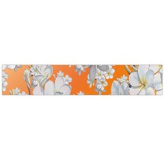 Flowers Background Backdrop Floral Flano Scarf (large)