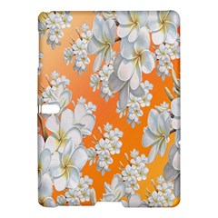 Flowers Background Backdrop Floral Samsung Galaxy Tab S (10 5 ) Hardshell Case
