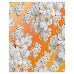 Flowers Background Backdrop Floral Drawstring Bag (small)