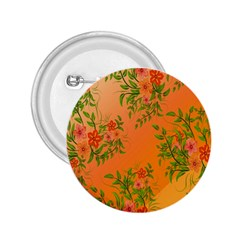 Flowers Background Backdrop Floral 2.25  Buttons