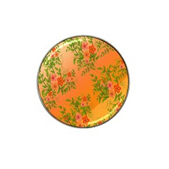 Flowers Background Backdrop Floral Hat Clip Ball Marker (4 pack)