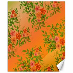 Flowers Background Backdrop Floral Canvas 16  x 20