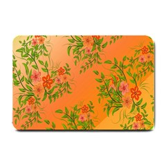Flowers Background Backdrop Floral Small Doormat