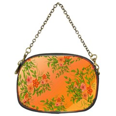 Flowers Background Backdrop Floral Chain Purses (Two Sides)