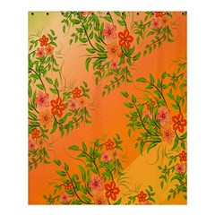 Flowers Background Backdrop Floral Shower Curtain 60  x 72  (Medium)
