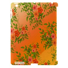Flowers Background Backdrop Floral Apple Ipad 3/4 Hardshell Case (compatible With Smart Cover)