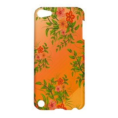 Flowers Background Backdrop Floral Apple Ipod Touch 5 Hardshell Case
