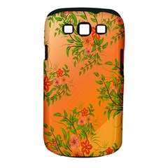 Flowers Background Backdrop Floral Samsung Galaxy S III Classic Hardshell Case (PC+Silicone)