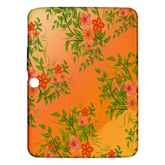 Flowers Background Backdrop Floral Samsung Galaxy Tab 3 (10.1 ) P5200 Hardshell Case